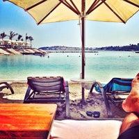 8/16/2014 tarihinde Batur A.ziyaretçi tarafından La Plage Port Cratos'de çekilen fotoğraf