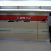 Photo taken at CIMB Bank by Fikri Z. on 6/18/2013