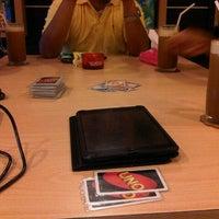 Photo taken at UNO Board Game Cafe by Putu Yemima C. on 1/13/2014