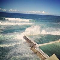 Photo taken at Bondi Beach by François T. on 4/21/2013