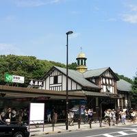 7/28/2013にMYAKENが原宿駅で撮った写真