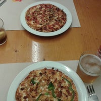 Photo taken at Pizza Pippo's by Xus Z. on 4/16/2014