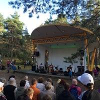 Photo taken at Vabaduse park by Jane I. on 8/20/2014