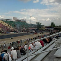 Photo taken at Summit Motorsports Park by Ken O. on 5/19/2013