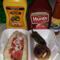 Photo taken at Nogales Hot Dogs by Rocio C. on 1/23/2015