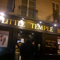 Photo taken at Little Temple Bar by Wilfried S. on 1/27/2013