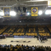 Photo taken at Stuart C. Siegel Center by chris w. on 1/10/2013
