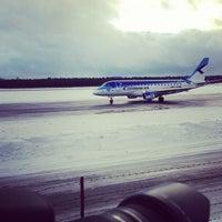 Photo taken at Lennart Meri Tallinn Airport (TLL) by Mark-Julius P. on 12/27/2012