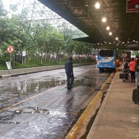 Photo taken at Airport Bus Service by Marcelo S. on 11/12/2012