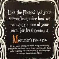Photo taken at Mortimer's Cafe & Pub by Tim S. on 1/13/2013