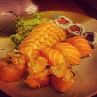 Photo taken at Zensei Sushi by André Luís A. on 12/29/2012
