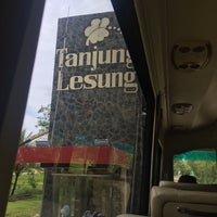 Photo taken at Tanjung Lesung by Stefan R. on 4/23/2017