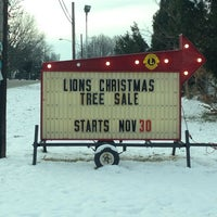 Photo taken at Mogadore Lions Christmas Tree Sales by Roger S. on 11/30/2013