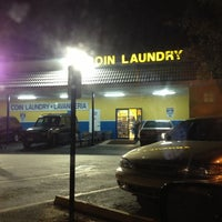 Photo taken at Coral Way Lavanderia Coin Laundry by Claudia C. on 12/11/2012