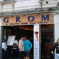 Photo taken at Grom by Sergej on 5/11/2013