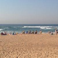 Photo taken at Amanzimtoti Main Beach by Linda J. on 7/1/2014