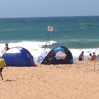 Photo taken at Amanzimtoti Main Beach by Linda J. on 10/6/2014