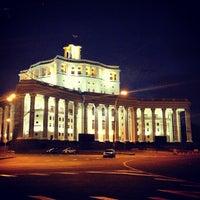 Photo taken at Центральный академический театр Российской армии by Сергей ⚡. on 7/6/2013