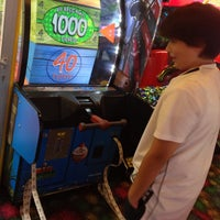 Photo taken at Marvel Superhero Island Arcade by Alexandre C. on 1/13/2013