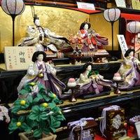 5/7/2016 tarihinde CM m.ziyaretçi tarafından 取手市 雛人形/五月人形・羽子板・提灯 人形のあぶいち'de çekilen fotoğraf