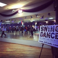 Photo taken at Fatcat Ballroom & Dance Company by Q on 10/5/2014