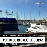 Photo taken at Oeiras Yacht Harbour by Ricardo Z. on 2/3/2013