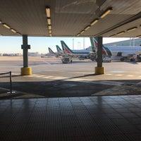 """Photo taken at Alitalia Freccia Alata Lounge """"Bramante"""" by Tamara S. on 7/4/2017"""