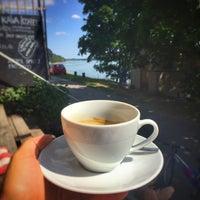 Photo taken at Ahoy cafe Devin by Andrej K. on 6/13/2017