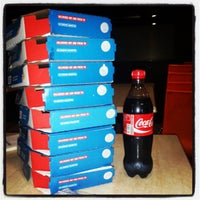 Photo taken at Dominos Pizza by Karthik M. on 6/23/2013