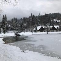 Photo taken at Jezero Jasna by Asude E. on 2/24/2018