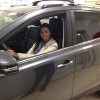 Photo taken at Penn Toyota by Alex D. on 4/22/2014