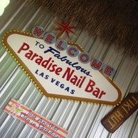 Photo taken at Paradise Nail Bar by Gina B. on 4/7/2014