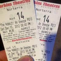 Photo taken at Harkins Theatres Norterra 14 by Eddie D. on 12/16/2012