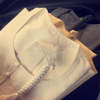 Photo taken at Zahrat Al Madani Tailoring & Textiles by Mesfer on 7/2/2017