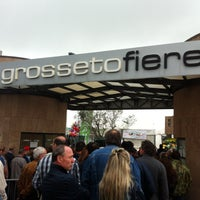 Photo taken at Fiera del Madonnino by Ilaria G. on 4/28/2013