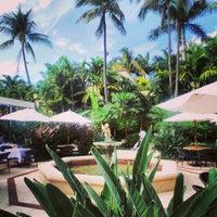 Photo taken at The Brazilian Court Hotel & Beach Club by Kara F. on 4/10/2013