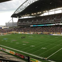 Photo taken at Investors Group Field by Andrew M. on 6/28/2013