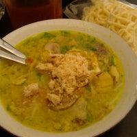 Photo taken at Soto Ayam Lamongan Cak Har by Marwati M. on 11/15/2012