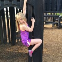Photo taken at Augusta Play Park by Matt C. on 4/25/2014