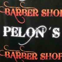 Photo taken at Pelon's BarberShop by Ary F. on 2/22/2014