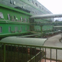 Photo taken at Green Dormitory by dedy b. on 3/13/2013