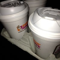 Photo taken at Dunkin' Donuts by Morgan B. on 10/9/2012