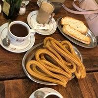 Photo taken at Las Farolas Churreria Chocolateria by Shannon B. on 3/1/2018