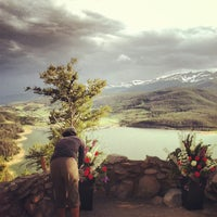 Photo taken at Sapphire Point Overlook by Stacy S. on 6/18/2013