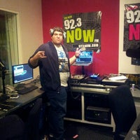 Photo taken at WNOW 92.3 Now FM by Vincent H. on 4/26/2013