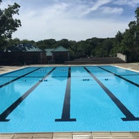 Photo taken at Brentwood Park & Pool by Jeff V. on 8/8/2015