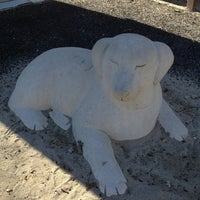 Photo taken at 'Dog Statue' Playground by Diane on 1/7/2013