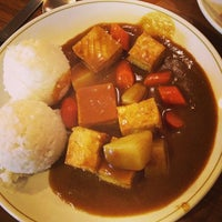 Photo taken at Curry Up Cafe by Diane on 5/12/2013