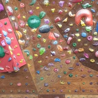 Photo taken at The JA's Climbing Center by Yuna on 6/21/2014