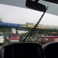 Photo taken at Pasteur Toll Gate by Aprilia A. on 5/26/2013